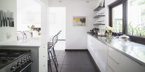 17 Galley Kitchen Design Ideas - Layout and Remodel Tips for Small on restaurant kitchen design layout, corridor kitchen layout, kitchen tile design layout, galley style kitchen, kitchen cabinets design layout, galley kitchen design template, galley kitchen dimensions, galley kitchen colors, galley kitchen designs for small kitchens, country kitchen design layout, galley kitchen logos, galley kitchen designs for a 9 x 12 space, kitchen island design layout, u-shaped kitchen design layout, galley kitchen ideas, galley kitchen floor plans, galley kitchen remodels, galley kitchen with island, small kitchen design layout, galley kitchen makeovers,