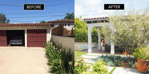 Before After Exterior Shot