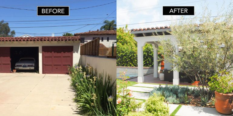 Los angeles home renovation interior designer janice barta for Before after exterior 1930