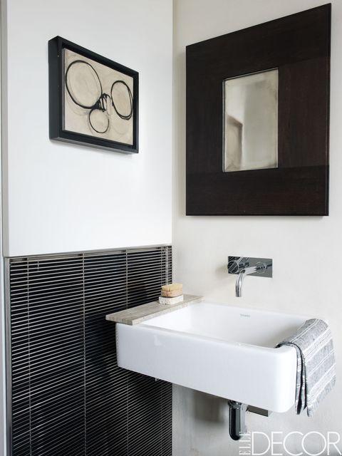black and white bathroom - Gray And White Bathroom
