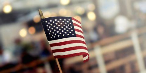 american flag history