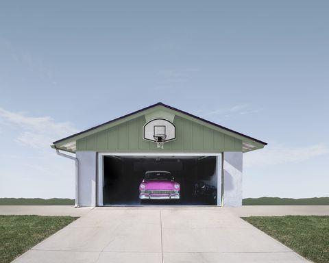 Road, Grass, Road surface, Automotive exterior, Property, Infrastructure, Automotive design, Architecture, Asphalt, Land lot,
