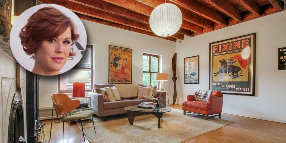 Molly Ringwald Home See Inside Celebrity Homes