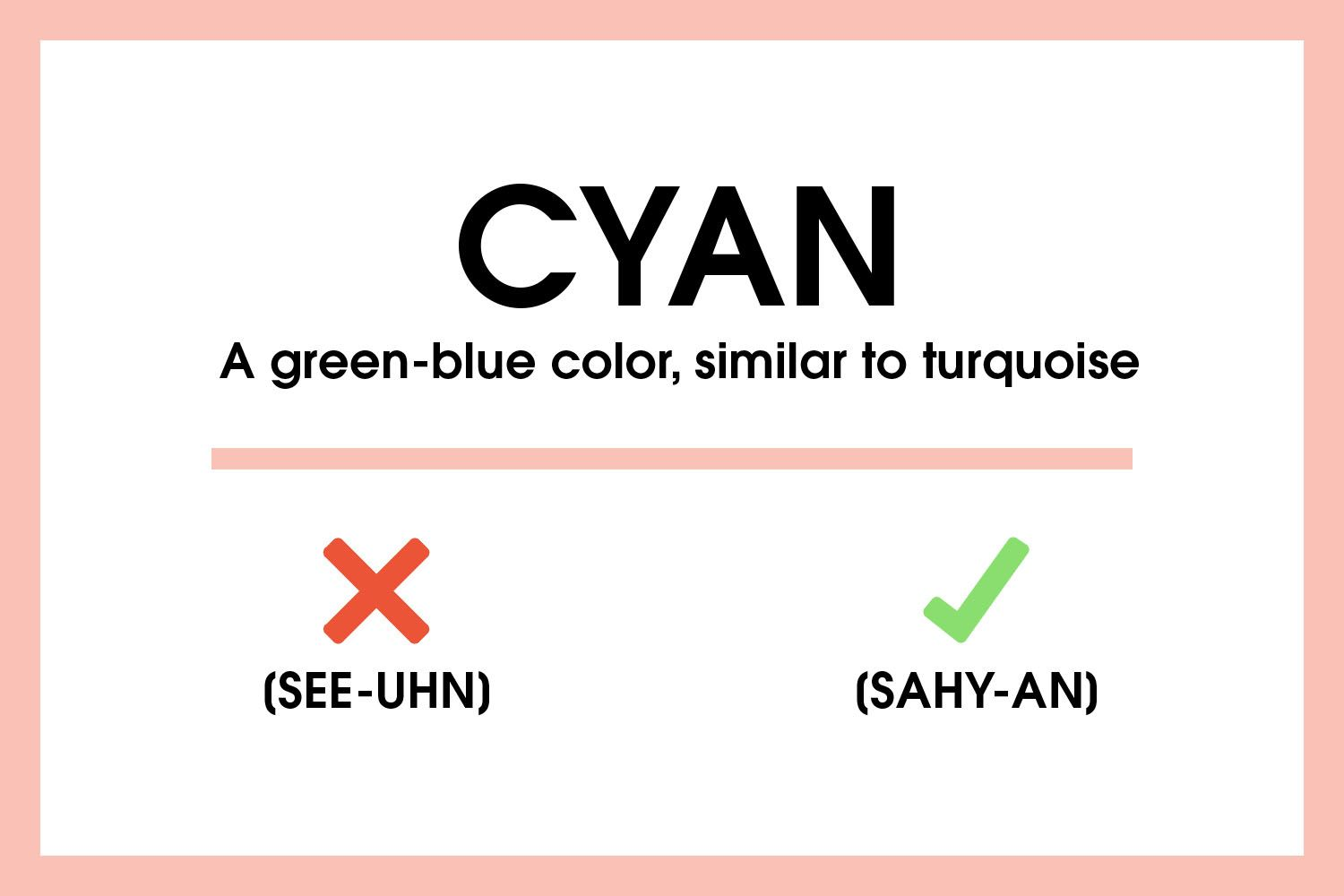 9 Design Words And How To Pronounce Them - Commonly Mispronounced