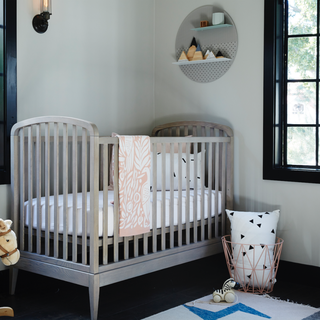 7 cute baby girl rooms nursery decorating ideas for baby for Elle decor nursery