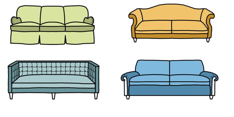 10 sofa styles different types of couches for Different styles of chairs
