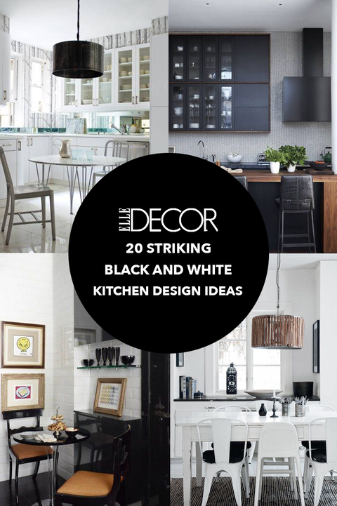 Stupendous 26 Gorgeous Black White Kitchens Ideas For Black White Best Image Libraries Weasiibadanjobscom