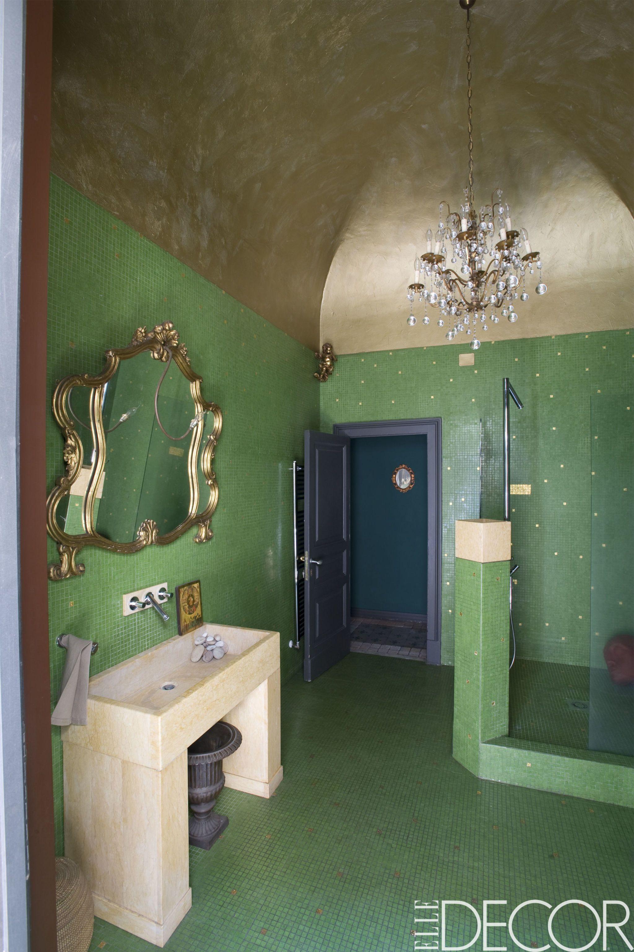 green bathroom Best Green Bathrooms Decor