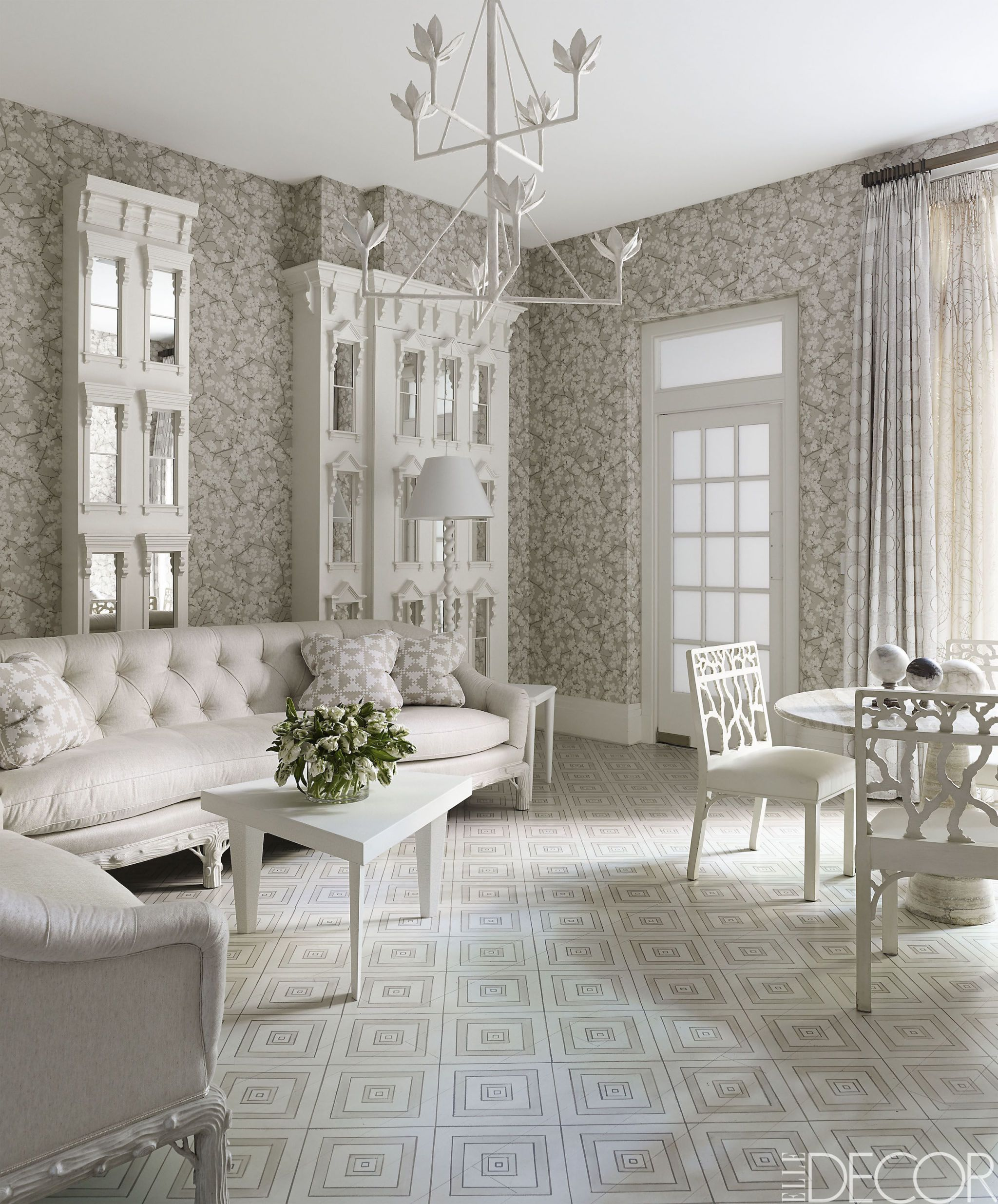 20 White Living Room Furniture Ideas White Chairs And Couches Rh Elledecor  Com White Living Room