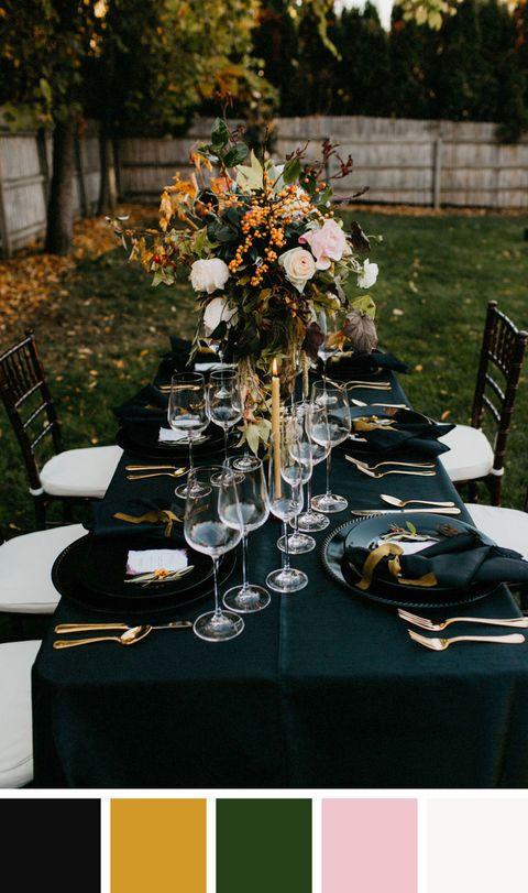 55 Best Fall Wedding Colors Gorgeous Wedding Color Palettes For Fall