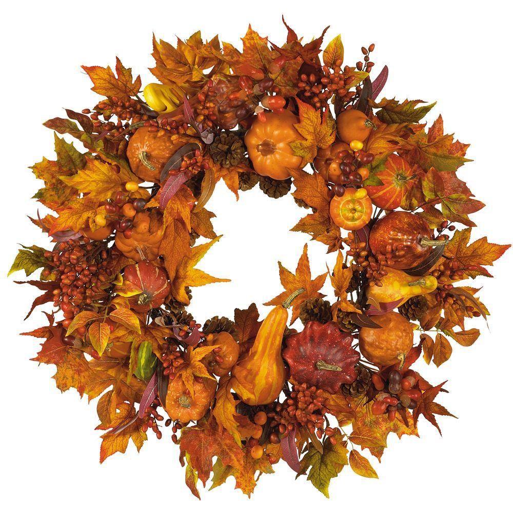 Fall Wreaths Home Depot