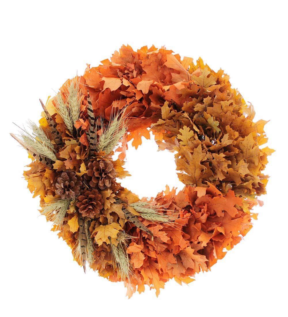 Fall Wreaths Plow Hearth