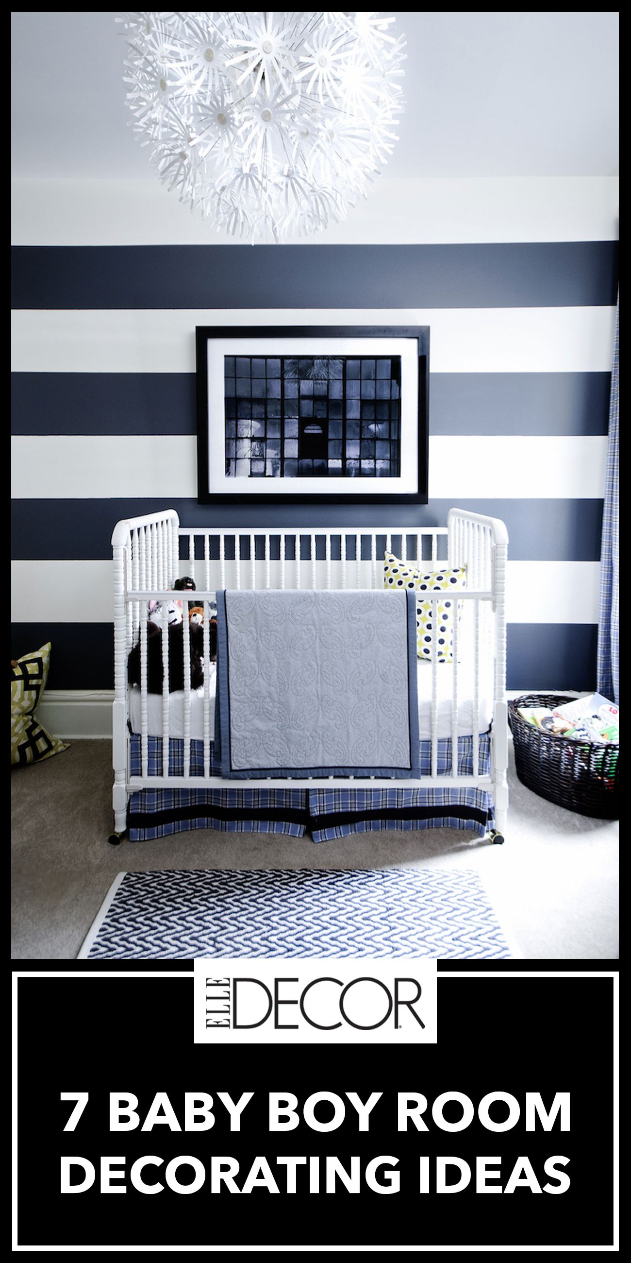 Baby Boy Room Colors Elle Decor