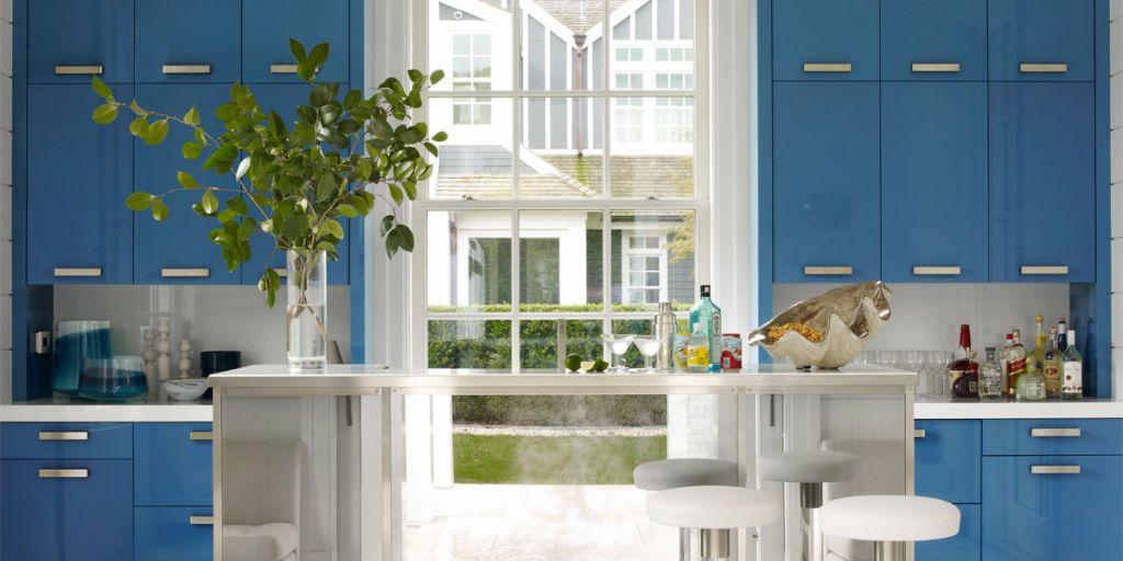 20 designer blue kitchens blue walls decor ideas for kitchens