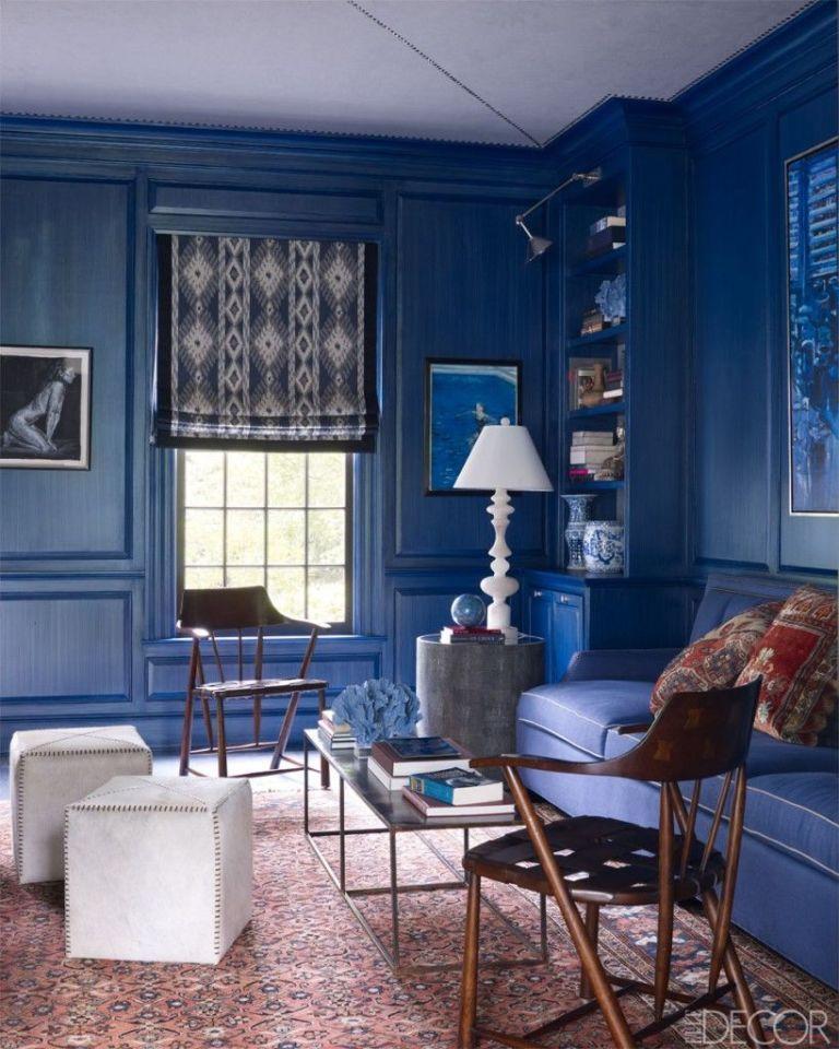 Blue Interior Design Model 65 best home decorating ideas  how to design a room