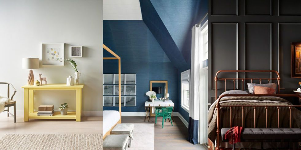 2017 color trends - best paint color and decor ideas for 2017