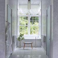 white bathroom design ideas  decorating tips for all white, Bathroom decor