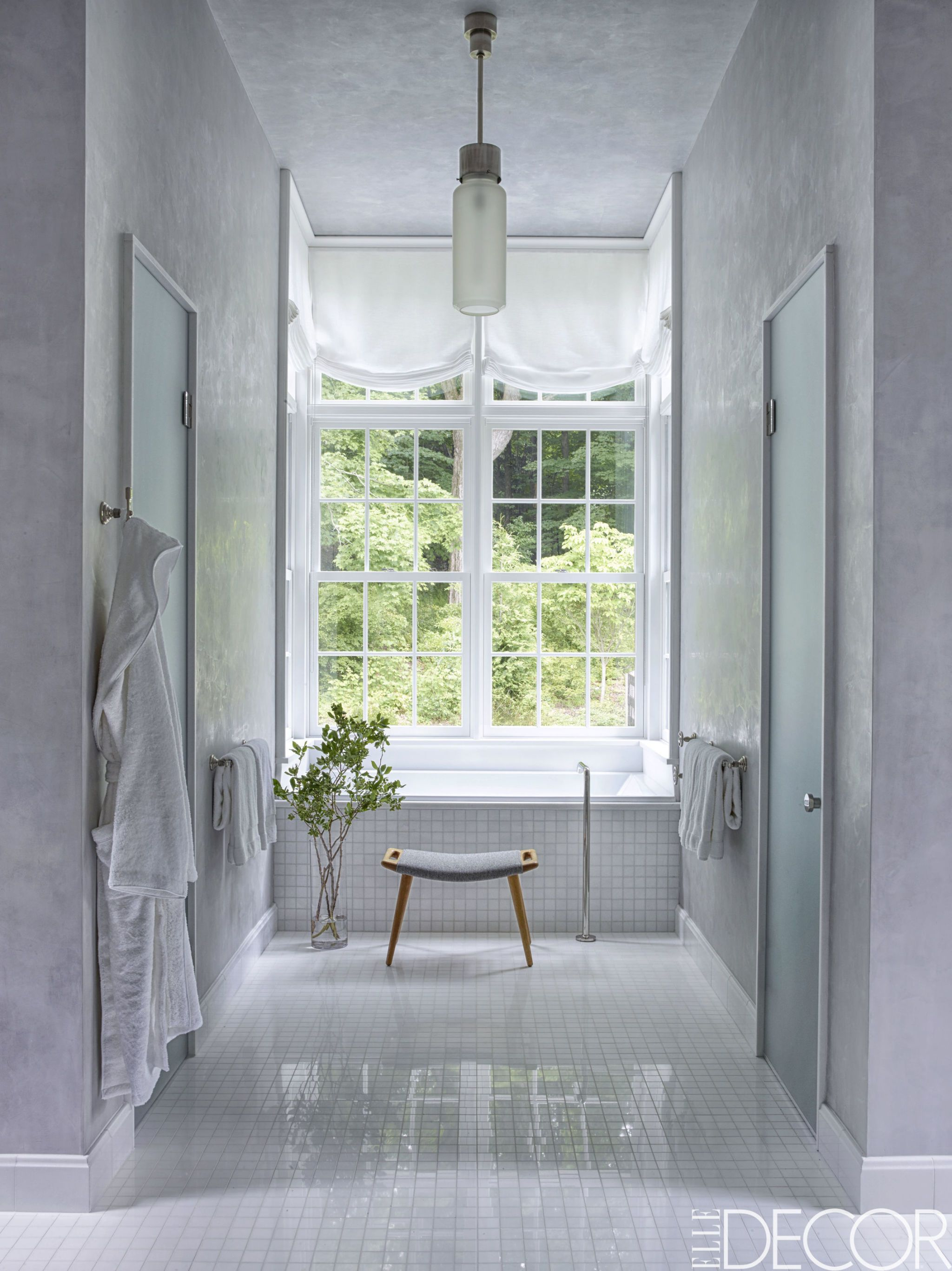 Charming White Bathrooms