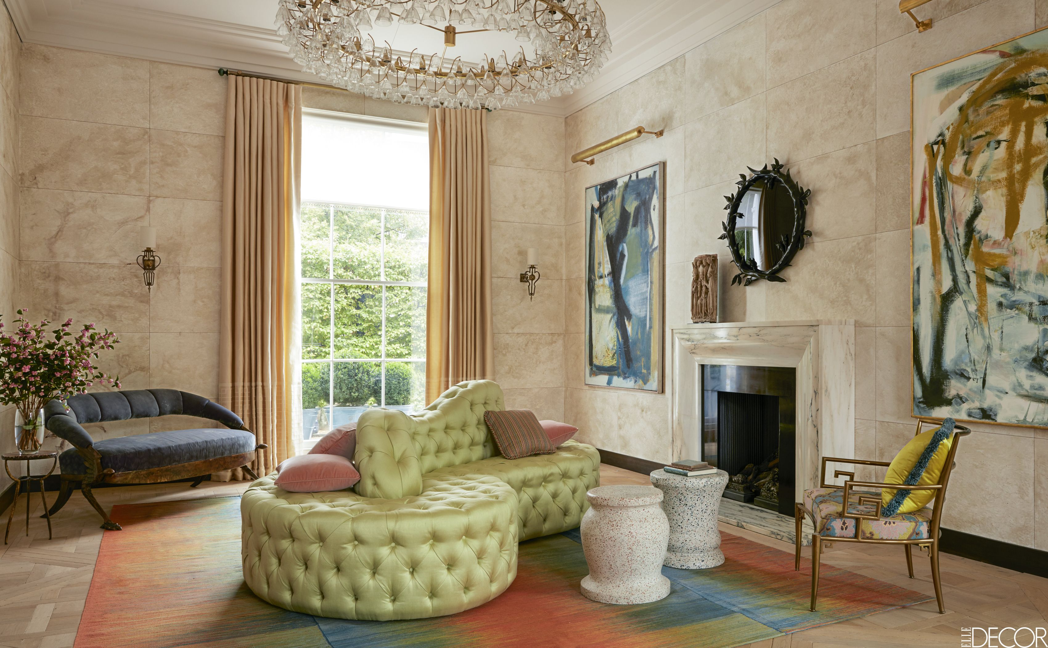 Townhouses In London - Colorful Living Rooms