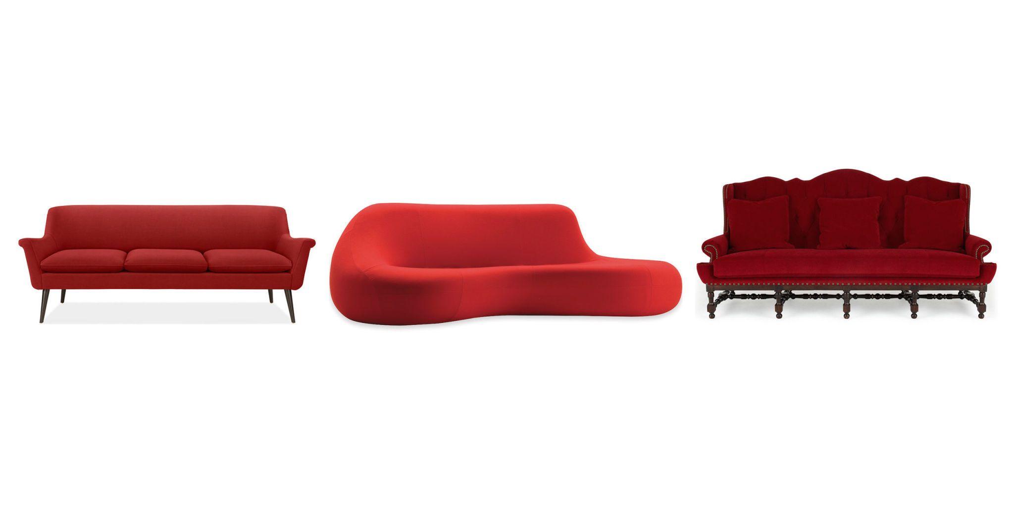 20 best red couch ideas red sofas rh elledecor com red leather couch ideas red couch ideas pinterest