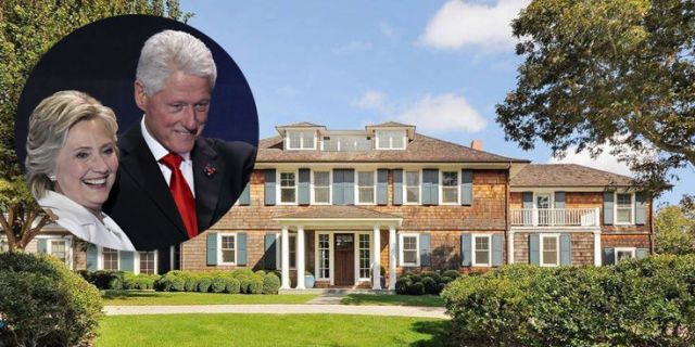 10 Clinton Hamptons Real Estate Bill And Hillary Summer Homes