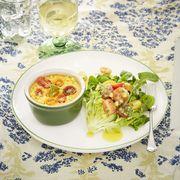 Cuisine, Serveware, Food, Dishware, Tableware, Dish, Ingredient, Recipe, Drinkware, Leaf vegetable,