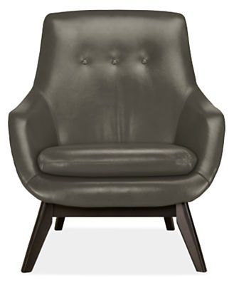 reading chairs. Henrick Leather Chair  sc 1 st  Elle Decor & 20 Best Reading Chairs - Oversized Chairs For Reading