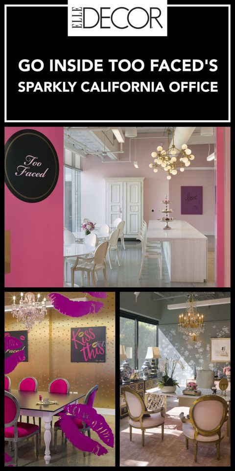 Too Faced Cosmetics Office Design Office Interior Design