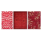 best red rugs