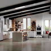 Floor, Interior design, Flooring, Room, Ceiling, Furniture, Cupboard, Flowerpot, Interior design, Fixture,
