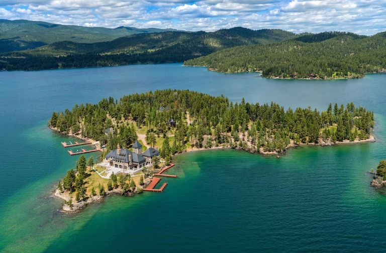 Montana Private Island For Sale