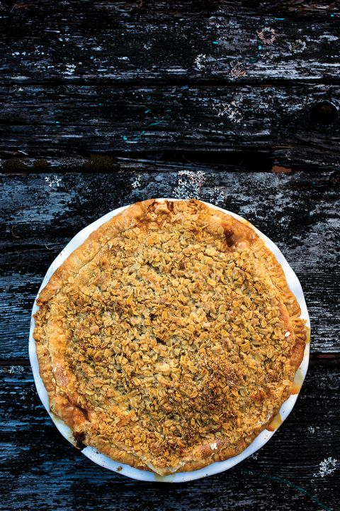 poached pear pie recipe