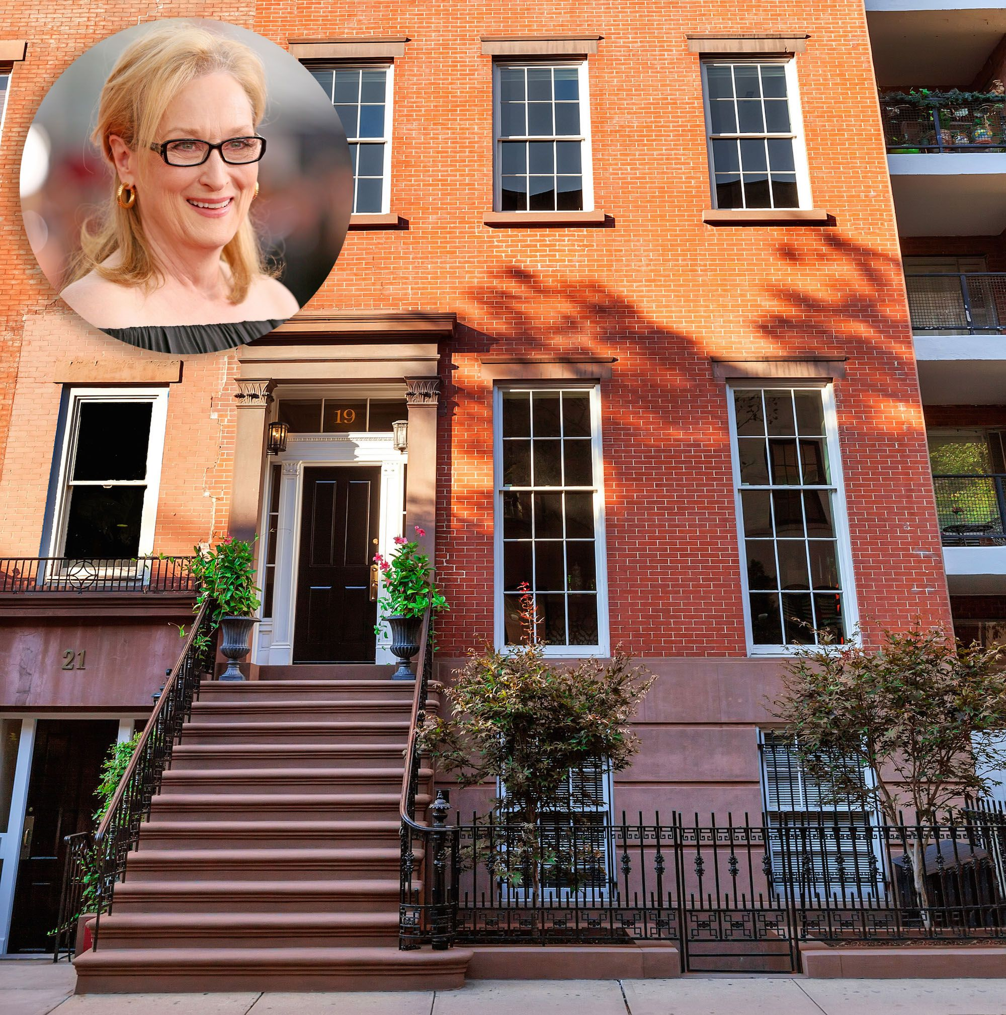 Meryl Streep S Former Nyc Townhouse For Celebrity Real Estate