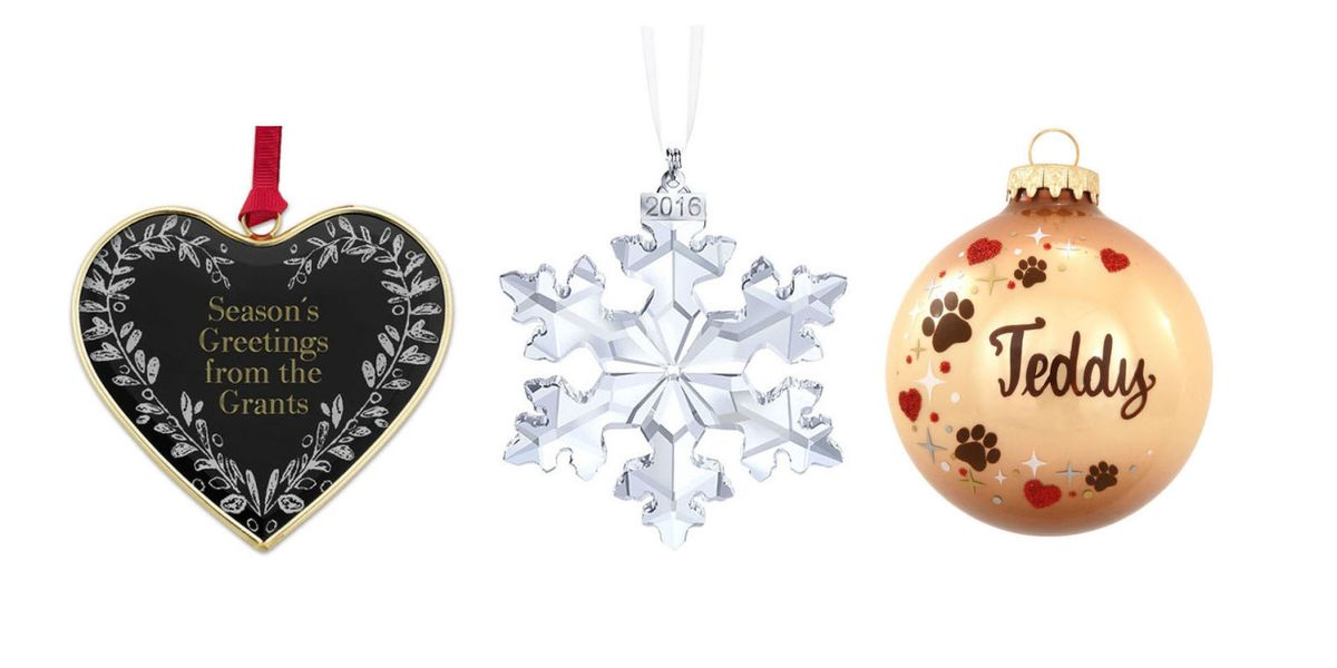 15 Personalized Christmas Ornaments - Best Ideas for ...