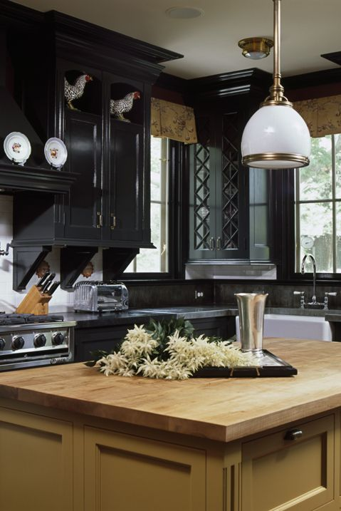 Blue Backsplash Kitchen Light Wood Cabinets