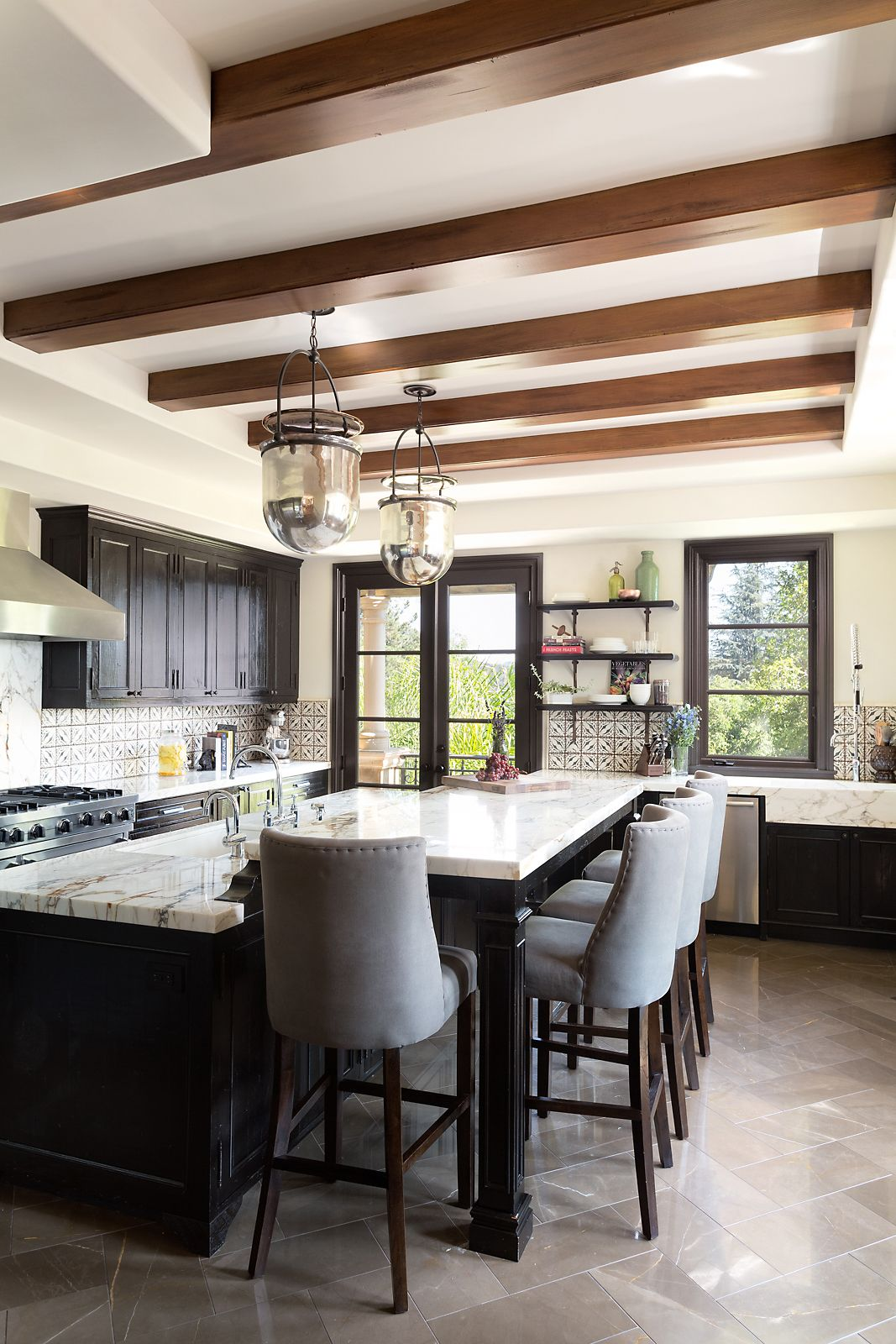 30 Sophisticated Black Kitchen Cabinets Kitchen Designs