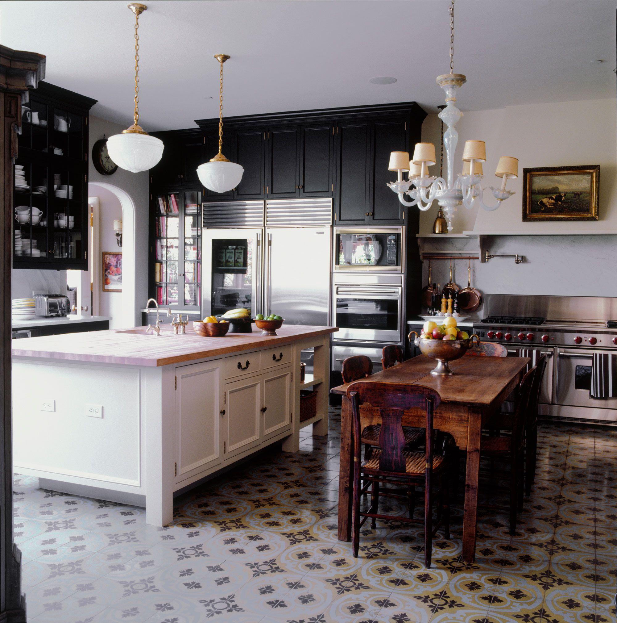 Matte Black Kitchen Cabinets 30 Best Black Kitchen Cabinets Kitchen Design Ideas With Black