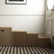 Property, Floor, Wall, Flooring, Picture frame, Door, Cardboard, Packing materials, Paint, Molding,