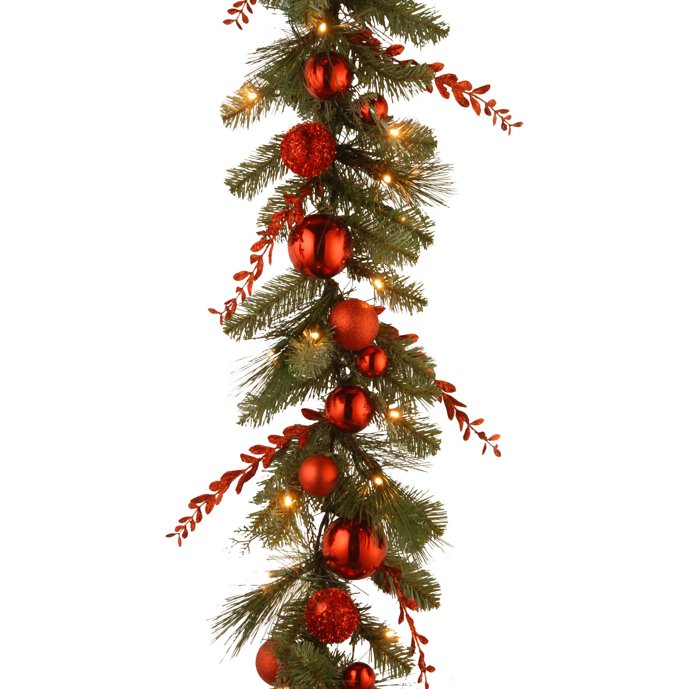 50 outdoor christmas decoration ideas stylish outside christmas decorating for your yard - Garland Christmas Decor