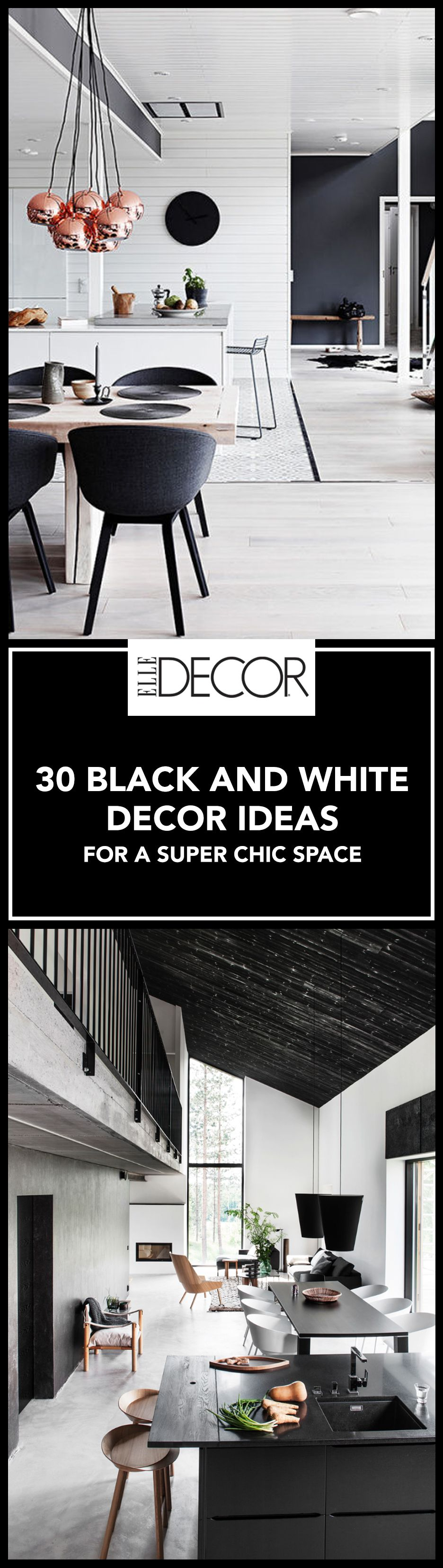 30 Best Black and White Decor Ideas - Black And White Design