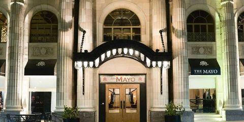 Facade, Architecture, Arch, Flowerpot, Door, Arcade, Commercial building, Column, Gate, Houseplant,