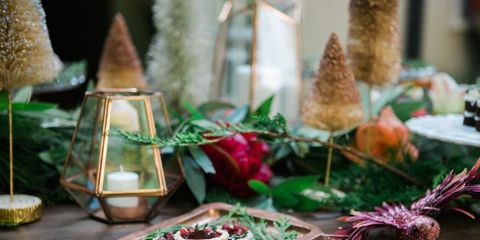 christmas table decorations - Christmas Dinner Decorations