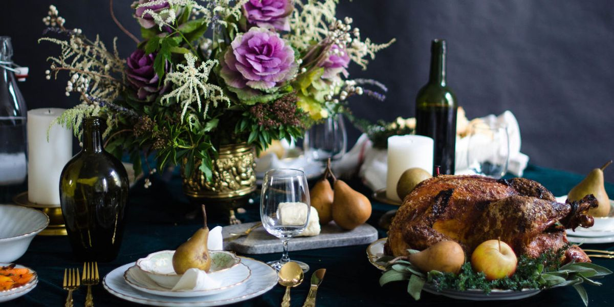 20 thanksgiving table decor ideas thanksgiving table settings and decorations - Decoration De Cuisine 2015 En Rose