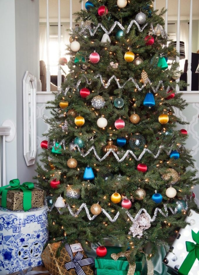 stunning christmas tree ideas 2018 best christmas tree decorating tips - Christmas Tree Filler Decorations