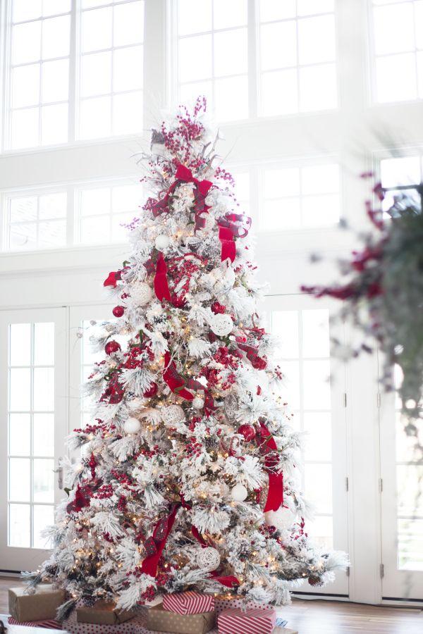 30 beautiful christmas tree decoration ideas 2017 for Elle decor christmas tree