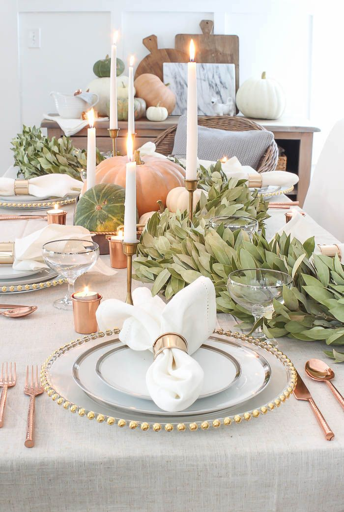 20 Thanksgiving Table Decor Ideas