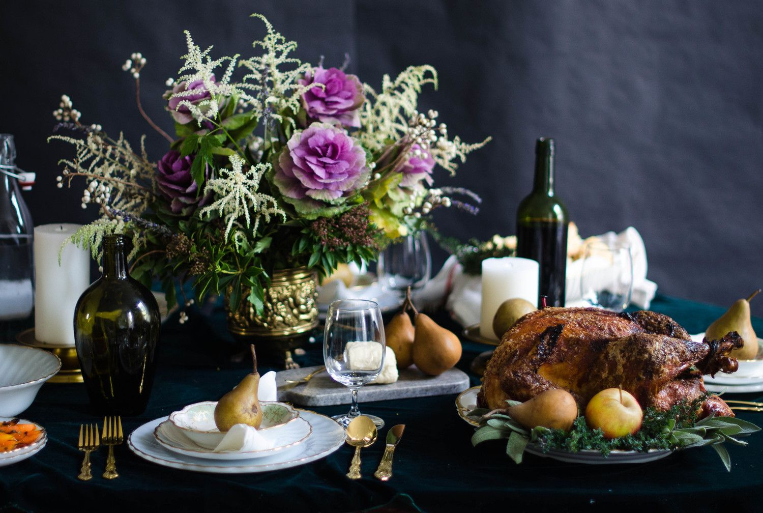 Thanksgiving Entertaining 20+ thanksgiving table decor ideas - thanksgiving table settings