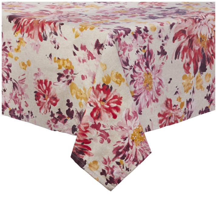 22 Best Thanksgiving Tablecloths - Holiday Table Linens ...