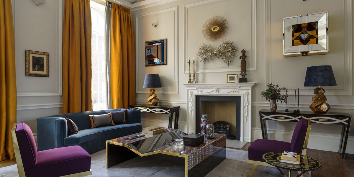 Tour A London Townhouse Filled With Jewel Tones W