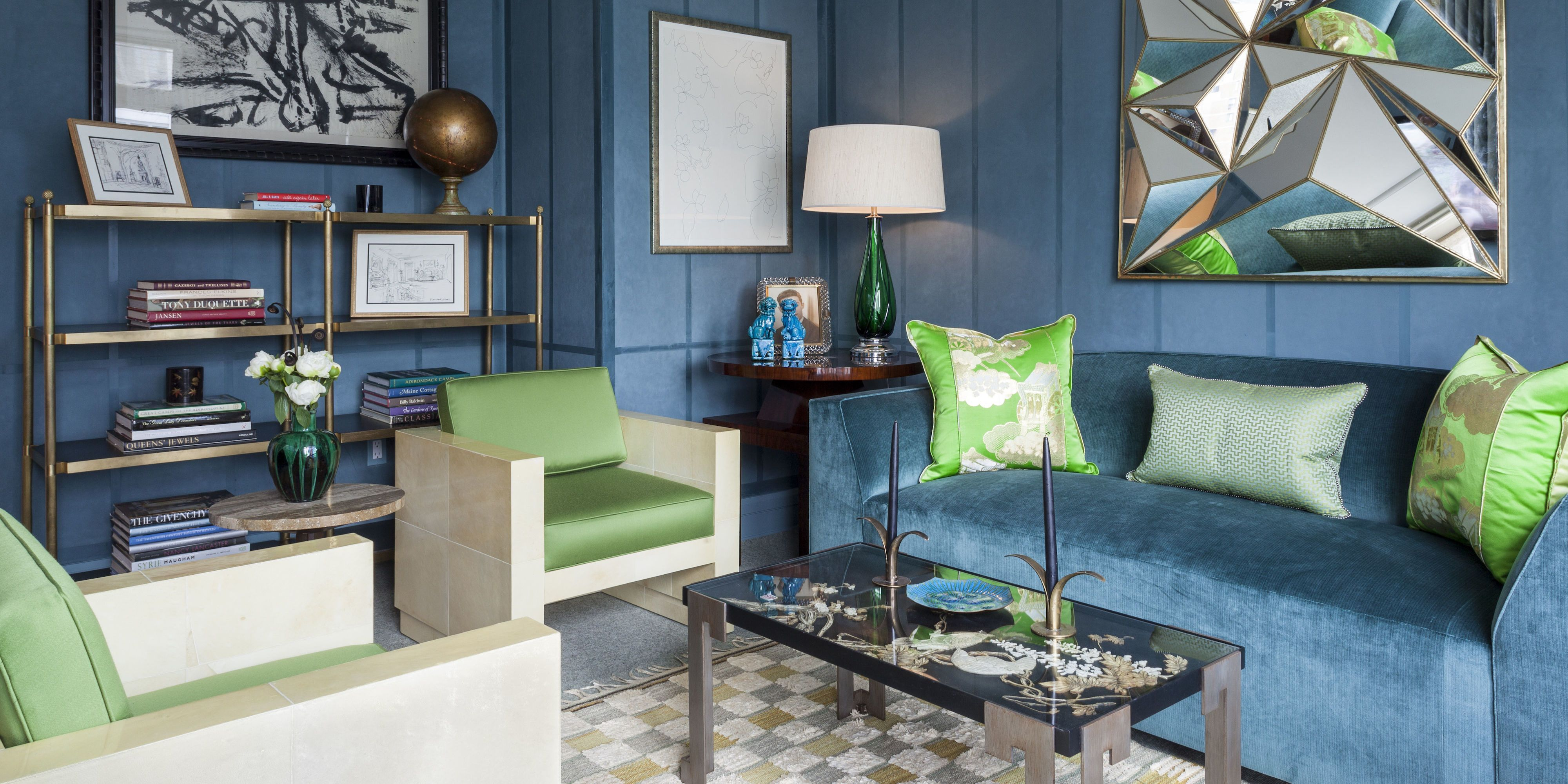 These Brightly Colored Rooms From The Talented Designers At Dering Hall  Prove That U2014 When Done Right U2014 Big And Bold Is The Way To Go.